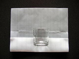 グラスの梱包